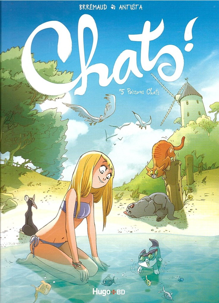 Chats tome 5 couverture