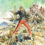 Illustration finale pour le visuel de couverture (encres de chine et de couleurs sur papier, 38 x 50 cm)