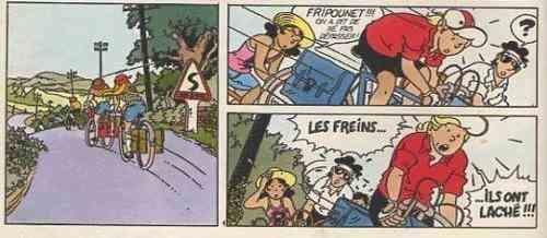 « Fripounet et Marisette » par Christian Goux et Gregory.