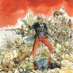 """Illustration de couverture pour la prépublication dans """"L'Immanquable"""" n° 28 (mai 2013)"""