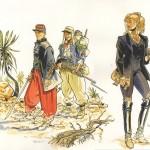 Illustration d'un ex-libris pour la Galerie 9ème art