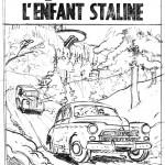 Croquis de Régric pour la couverture du tome 24 de« Lefranc ».