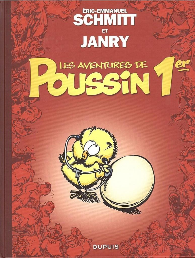 Les Aventures de Poussin 1er couverture