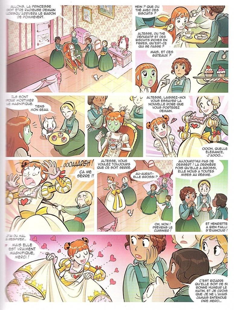 Princesse Capucine tome 1 page 13