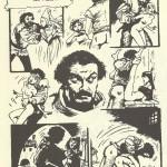 Une page d'« Il Bastone di Gabriele » d'après le « Décaméron » de Boccace.