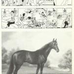 Dessins humoristiques et peinture réalisés par René Bonnet après son travail à Fripounet.