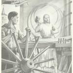 Illustration religieuse pour la librairie catholique Mariale.