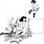 Premiers essais de bandes dessinées (1967).