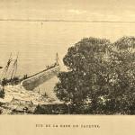 Rade de cayenne (gravure de Riou, 1867)