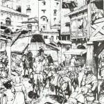 Illustration pour le magazine Histoire Vicentina.