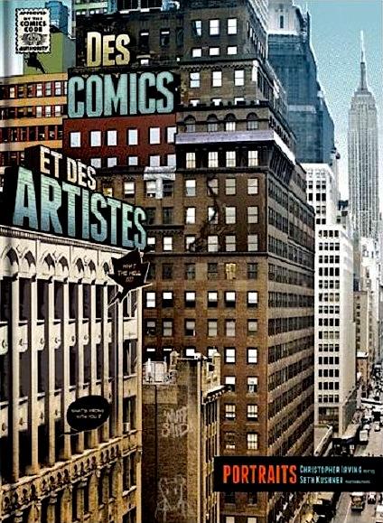 Comics artistes cover