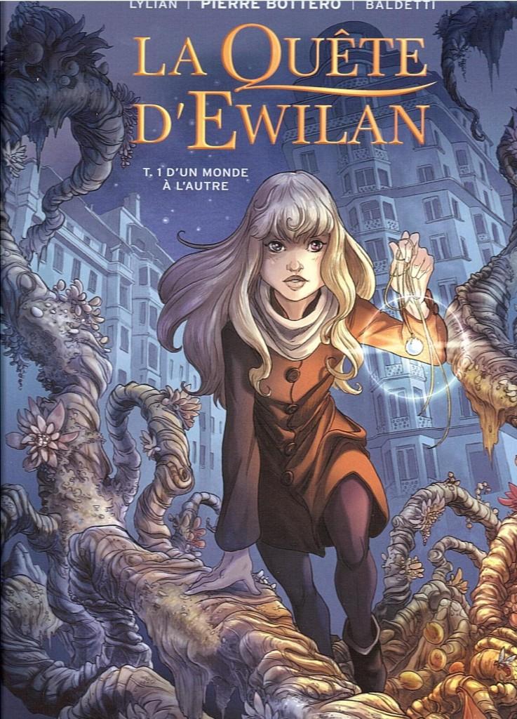 La Quête d'Ewilan tome 1 couverture