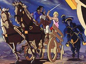 « Les Voyages de Corentin » en dessin animé.