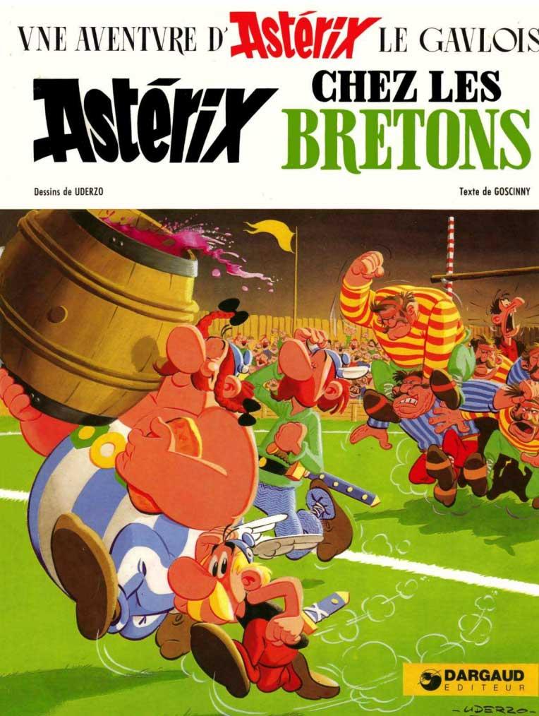 Tome 08 - Astérix chez les Bretons