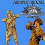 Affiche publicitaire proposant aux Australiens de s'engager pendant la Première Guerre mondiale.