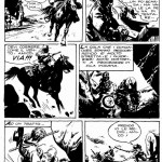 Une page originale de l'« Histoire de l'Ouest » de Gino D'antonio,