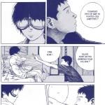 — « Goggles » : Hiroko se renferme sur elle même. Elle porte des vieilles lunettes de motard ainsi qu'une chemise qu'elle refuse d'ôter. Le récit finira par nous en expliquer la raison.