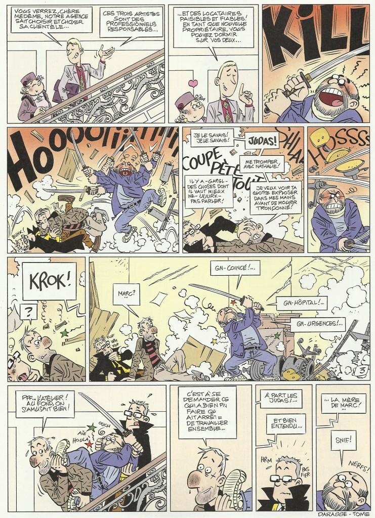 « Le Gang Mazda » reviendront le temps de trois planches dans le n° 3839 de Spirou du 9 novembre 2011 : un spécial come-back.