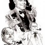 Un beau dessin récent de René Follet représentant l'Oncle Paul.