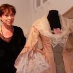 Annie Goetzinger à la Galerie Oblique en 2011 - photo © Manuel F. Picaud.