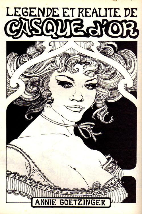 Première page de « Casque d'or » publiée dans le n° 1 de Circus, au 2ème trimestre 1975.