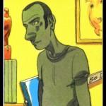 Autoportrait de J.-C. Chauzy dans « La Guitare de Bo Diddley ».