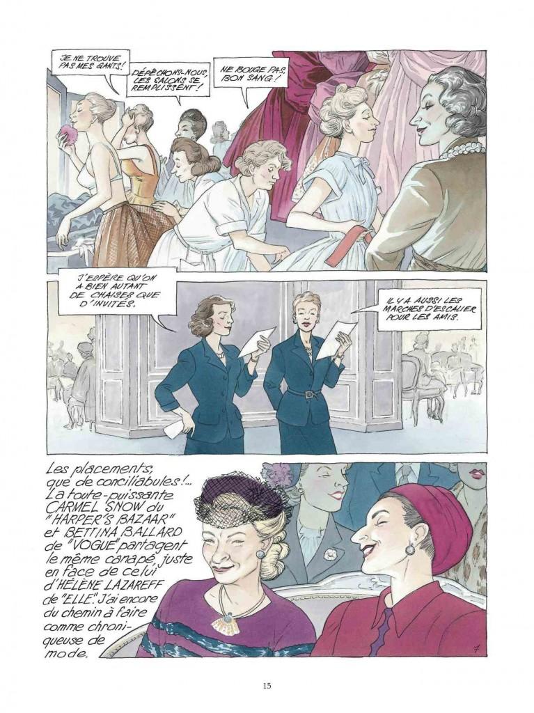 Et encore une autre belle page de « Jeunes Filles en Dior » pour finir...