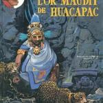 Gouache de Patrice Pellerin pour la couverture de « L'Or maudit de Huacapac », épisode de « Barbe-Rouge » dessiné par Christian Gaty.