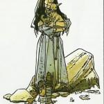 Illustration du roman « Cabrita » pour Je Bouquine.