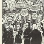 Trois pages sans titre au n° 4 du Canard sauvage, en 1975.