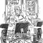 Une illustration de J.-C. Chauzy pour le quotidien Le Monde.