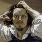 Le Désespéré, par Courbet (1843 - 1845)