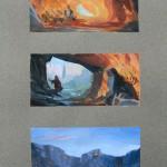 Recherches d'ambiances et références couleurs pour le tome 2