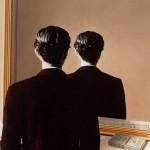 """Nous reproduisons """"La Reproduction interdite""""... (Magritte, 1937) !"""