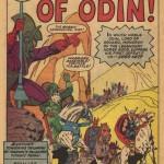 """Splash page de """"Tales of Asgard"""" dans """"Journey into Mystery"""" #110"""