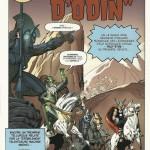 """La même splash page de """"Tales of Asgard"""" dans """"Journey into Mystery"""" #110 telle qu'elle a été """"restaurée""""..."""