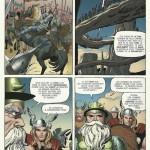 """Planche 5 de """"Tales of Asgard"""" dans """"Journey into Mystery"""" #110 telle qu'elle a été """"restaurée""""..."""