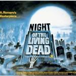 """Affiche pour """"La Nuit des morts-vivants"""" (G. A. Romero, 1968)"""