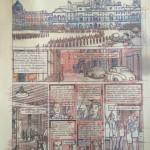 Rough de la planche 1 de lalbum par Antoine Aubin