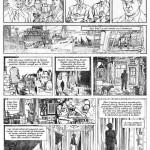 Crayonné d'Aubin pour la 3ème planche