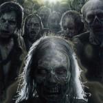 Poster hommage à la série Walking Dead par Drew Struzan