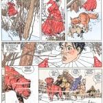 Planche 2 du tome 1 des Sept Vies de l'Epervier