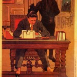 """Affiche de """" Fantômas, le mort  qui tue """" (Louis Feuillade, 1913)"""