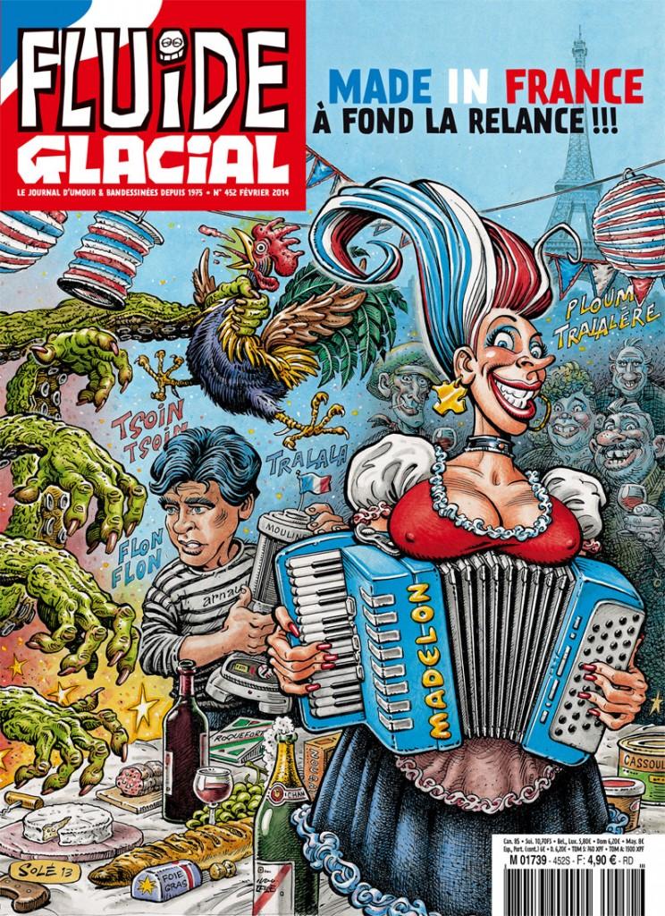Souvent Fluide glacial soutient le « made in France »… Gotlib et  MJ38