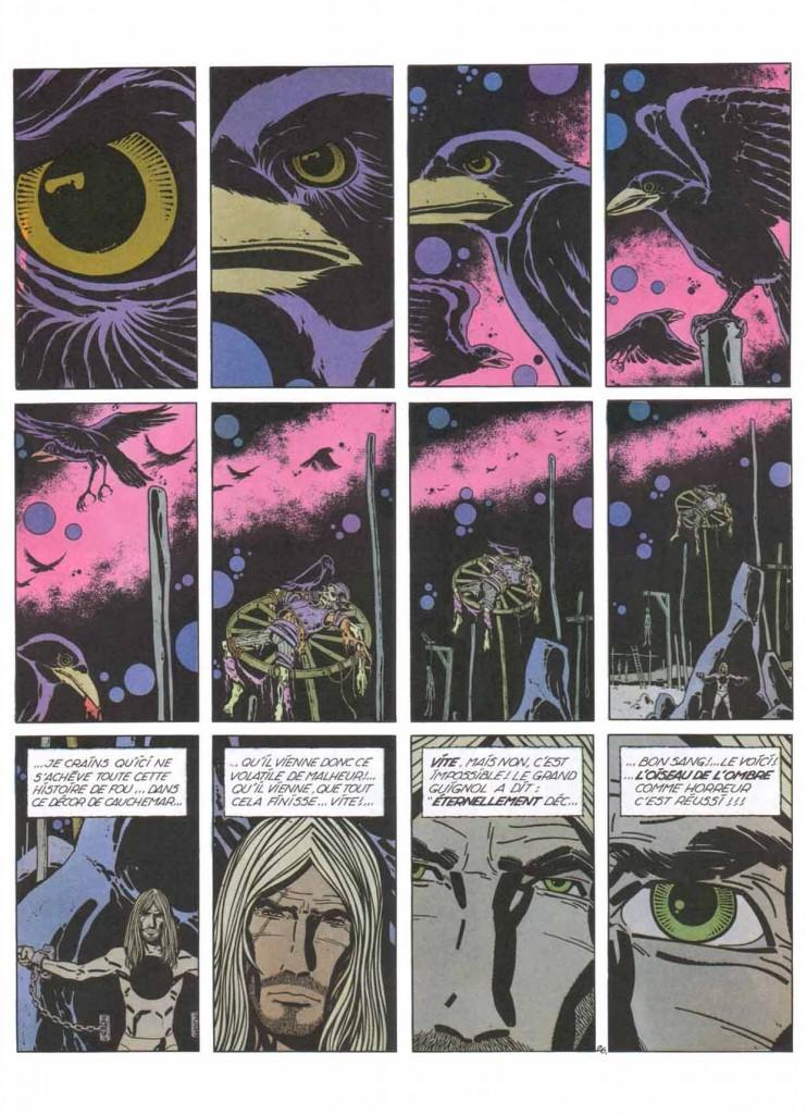 D'autres oiseaux de malheur : planche 26 d'Ergun T2 : Le maître des ténèbres