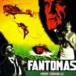 """Affiche de """" Fantômas """" (A. Hunebelle, 1964)"""