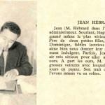 Présentation de Jean Hébrard dans le n° 39 de Pistolin, en 1956.