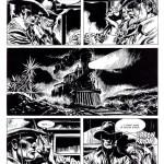 Tex par José Ortiz dans « La Granda Rapina », traduit en France sous le titre « La Grande Attaque ».