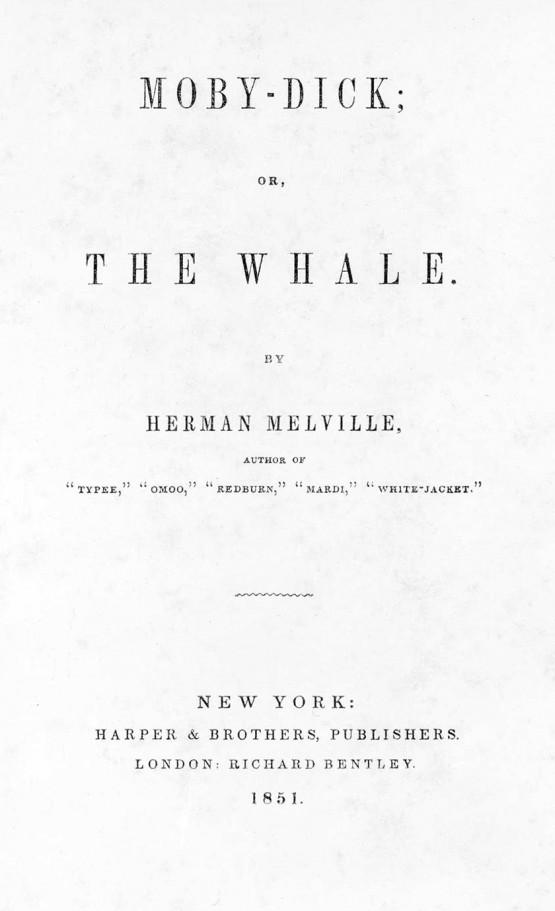 Page de titre de la 1ère édition, 1851