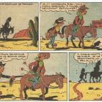 « Arthur et Goupillon » dans Zorro, en 1950.